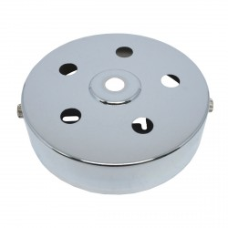 S. Lilley & Son 100mm Six Hole Chrome Ceiling Plate