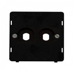 Click Definity 2 Gang Dimmer Switch Mounting Plate