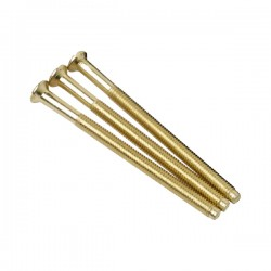 Click SP650BR Pack of 100 3.5mm 50mm Brass Screws