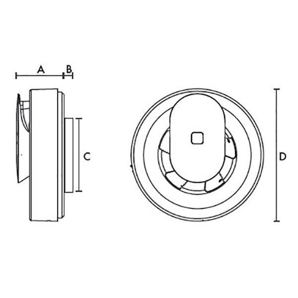 Amazing Vent Axia Lo Carbon Svara Kitchen And Bathroom Fan Download Free Architecture Designs Lukepmadebymaigaardcom
