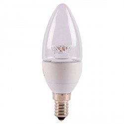 Bell Lighting 4W Warm White Non-Dimmable E14 Clear LED Candle Bulb