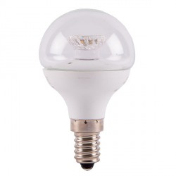 Bell Lighting 4W Warm White Non-Dimmable E14 Clear LED Golf Ball Bulb