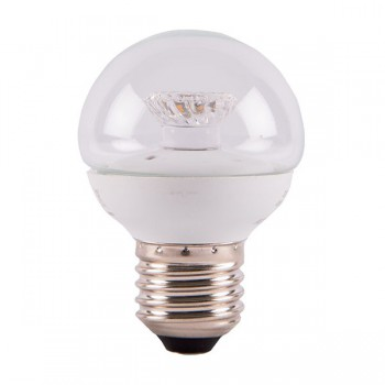 Bell Lighting 4W Warm White Non-Dimmable E27 Clear LED Golf Ball Bulb