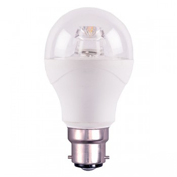 Bell Lighting 6W Warm White Non-Dimmable B22 Clear LED GLS
