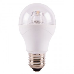 Bell Lighting 6W Warm White Non-Dimmable E27 Clear LED GLS