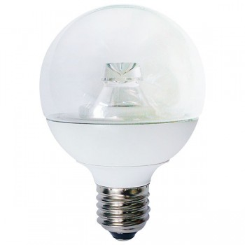 Bell Lighting 7W Warm White Non-Dimmable E27 Clear LED Globe Bulb