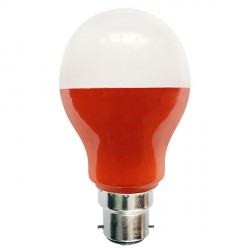 Bell Lighting 5W Non-Dimmable B22 Amber Coloured LED GLS