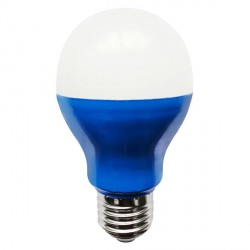 Bell Lighting 5W Non-Dimmable E27 Blue Coloured LED GLS
