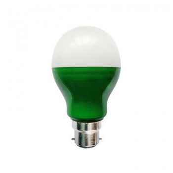 Bell Lighting 5W Non-Dimmable B22 Green Coloured LED GLS