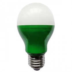 Bell Lighting 5W Non-Dimmable E27 Green Coloured LED GLS