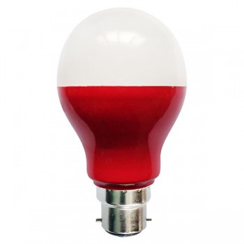 Bell Lighting 5W Non-Dimmable B22 Red Coloured LED GLS