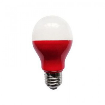 Bell Lighting 5W Non-Dimmable E27 Red Coloured LED GLS