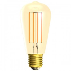 Bell Lighting Vintage 4W Warm White Dimmable E27 Amber LED Squirrel Cage Bulb
