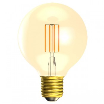Bell Lighting Vintage 4W Warm White Dimmable E27 Amber LED Globe Bulb