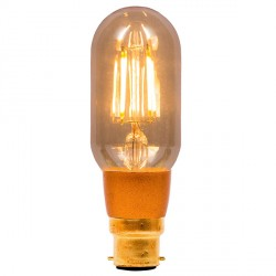 Bell Lighting Vintage 4W Warm White Dimmable B22 Amber LED Tubular Bulb