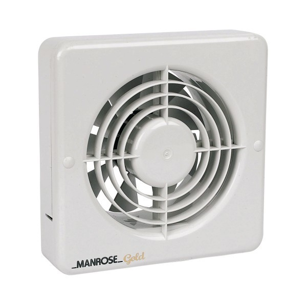 manrose mg150bt gold range 150mm extractor fan with electronic timer 1 1 large manrose gold 150mm extractor fan with timer at uk electrical supplies manrose mg100t wiring diagram at bayanpartner.co
