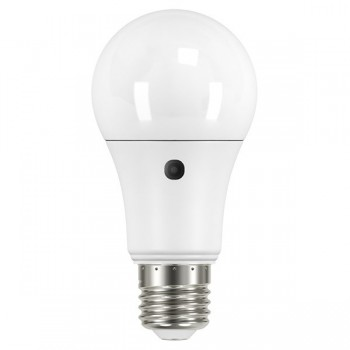 Bell Lighting 9W Warm White Non-Dimmable E27 Pearl LED GLS with Photocell