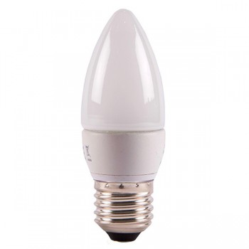 Bell Lighting 4W Warm White Non-Dimmable E27 Opal LED Candle Bulb