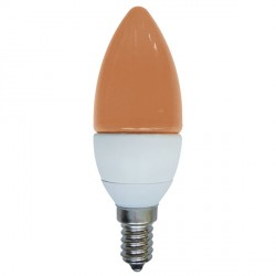 Bell Lighting 4W Non-Dimmable E14 Amber LED Candle Bulb
