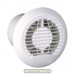 Manrose Haylo 100mm Extractor Fan with Pullcord Switch