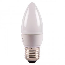 Bell Lighting 4W Warm White Dimmable E27 Opal LED Candle Bulb