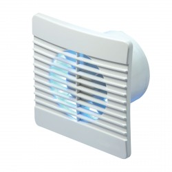 Manrose Flat Fan 100mm Extractor Fan with Timer