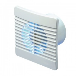 Manrose Flat Fan 150mm Extractor Fan with Timer