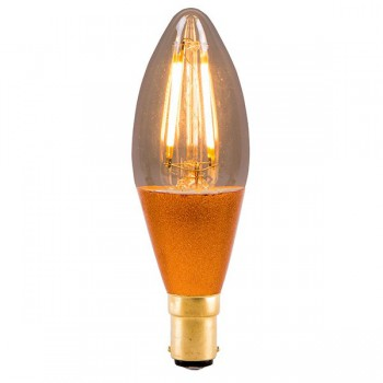 Bell Lighting Vintage 4W Warm White Dimmable B15 Amber LED Candle Bulb