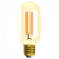 Bell Lighting Vintage 4W Warm White Non-Dimmable E27 Amber LED Tubular Bulb