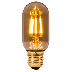 Bell Lighting Vintage 4W Warm White Non-Dimmable E27 Amber LED Tubular Bulb