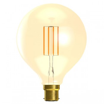 Bell Lighting Vintage 4W Warm White Non-Dimmable B22 Amber LED Large Globe Bulb