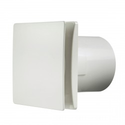 Manrose Rtdeco 100mm White Extractor Fan with Timer