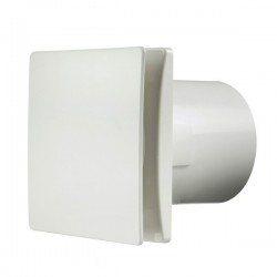 Manrose Rtdeco 150mm White Extractor Fan with Timer