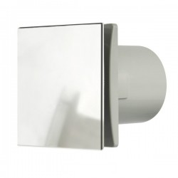 Manrose Rtdeco 150mm Chrome Extractor Fan with Humidity Control