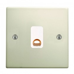 Hamilton Hartland Pearl Oyster 20A Cable Outlet with White Insert