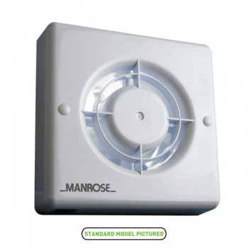 Manrose 100mm Extractor Fan with Pullcord Switch
