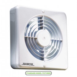 Manrose 150mm Extractor Fan with Pullcord Switch