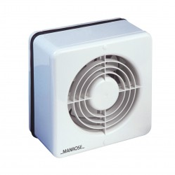 Manrose 150mm Window Extractor Fan with Pullcord Switch