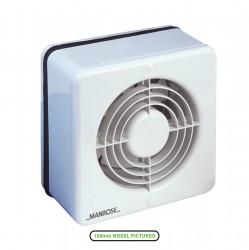 Manrose 150mm Window Extractor Fan with PIR Sensor