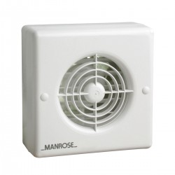 Manrose 100mm Automatic Shutter Extractor Fan with Timer