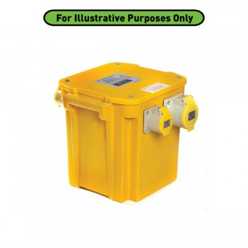 Briticent Site Electrics 1kVA Portable Site Transformer