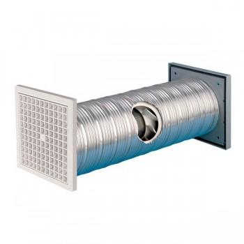 Manrose 100mm Slimline Wall Fan Kit