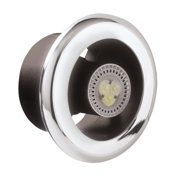 Manrose Led Showerlite Extractor Fan Kit Cool White At