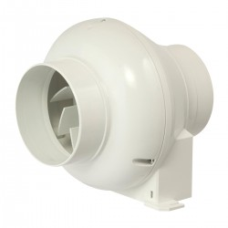 Manrose In-Line Centrifugal Extractor Fan with Timer