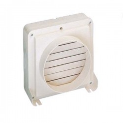 Manrose 150mm Automatic Shutter In-Line Fan with Timer