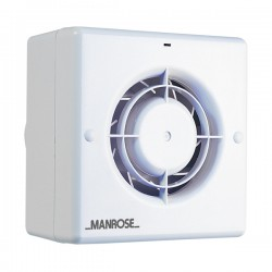 Manrose CF100 Centrifugal Extractor Fan with Pullcord Switch
