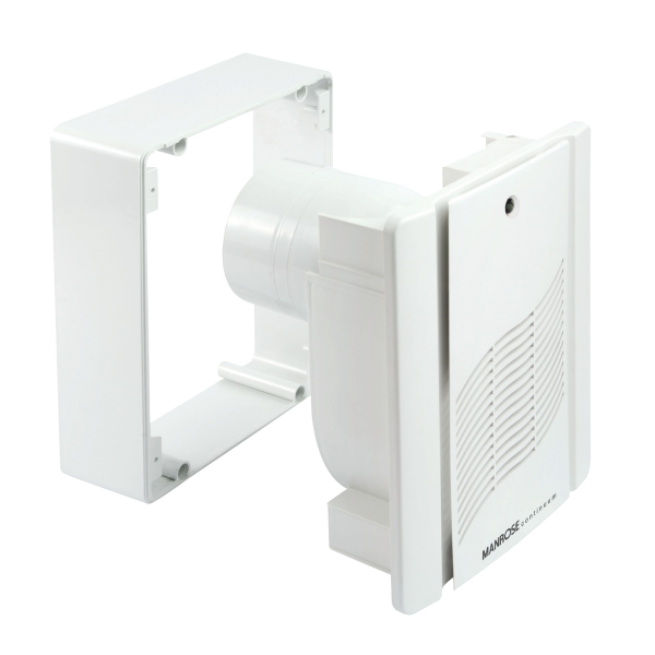 Humidity Controlled Bathroom Fan: Manrose M200 Centrifugal Bathroom Extractor Fan With