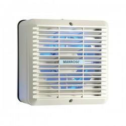 Manrose 150mm Automatic Shutter Window Kitchen Extractor Fan