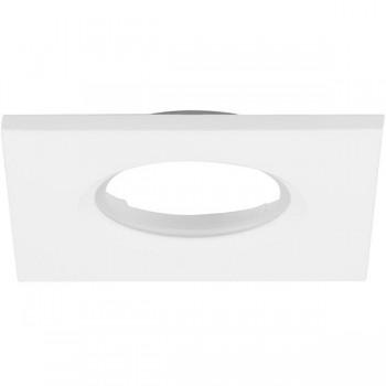 Aurora Lighting Square White IP65 Bezel for mPro LED Downlights