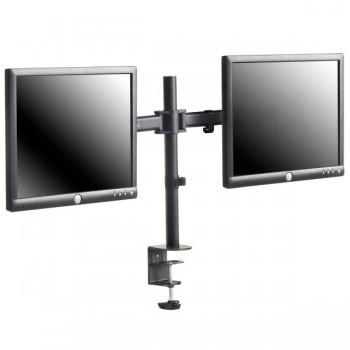 VonHaus Double Arm Monitor Desk Mount for 13-27in Monitors